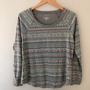 Sonoma Waffle Knit Thermal Long Sleeve Top